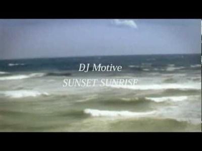 DJ Motive SUNSET SUNRISE(先行シングル) Zooooo.jp CM