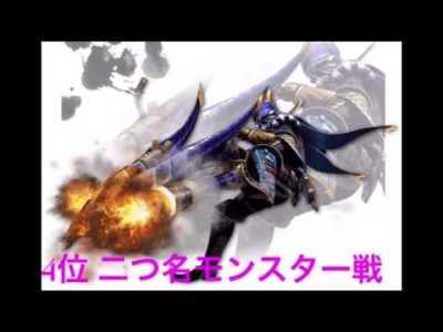 モンスターハンタークロス おすすめBGMランキング [6曲]