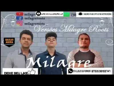 REGGAE GOSPEL 2020 BANDA MILAGRE ROOTS CD COMPLETO