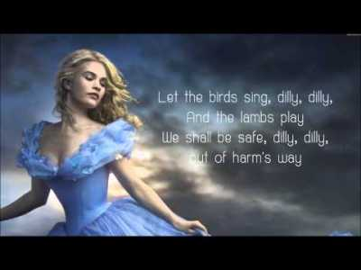 Lavender's Blue Dilly Dilly – Lyrics (Cinderella 2015 Movie Soundtrack Song)