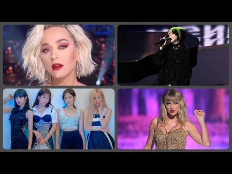 artistas femeninas con más suscriptores en youtube 💜