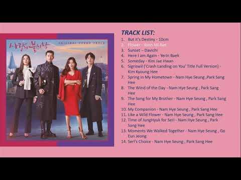 FULL ALBUM CRASH LANDING ON YOU OST / 사랑의 불시착 OST / 愛の不時着 オリジナル🌸 サウンドトラック