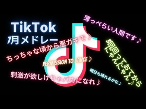 【Tik Tok】テンションアゲアゲ人気曲メドレー7月ver[20分耐久][作業用]