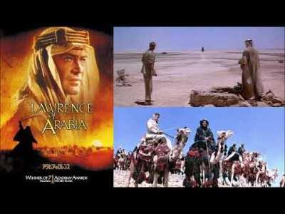 """映画「アラビアのロレンス」-サウンドトラック Movie """"Lawrence of Arabia"""" -Soundtrack"""