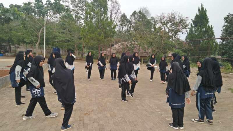 Sarana Olahraga Santri di Pondok Modern Assalam Sukabumi