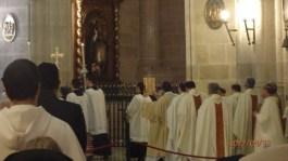 Procesión tras el Evangelio