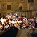 Peregrinos con Madres de Desamparados y San José de la Montaña