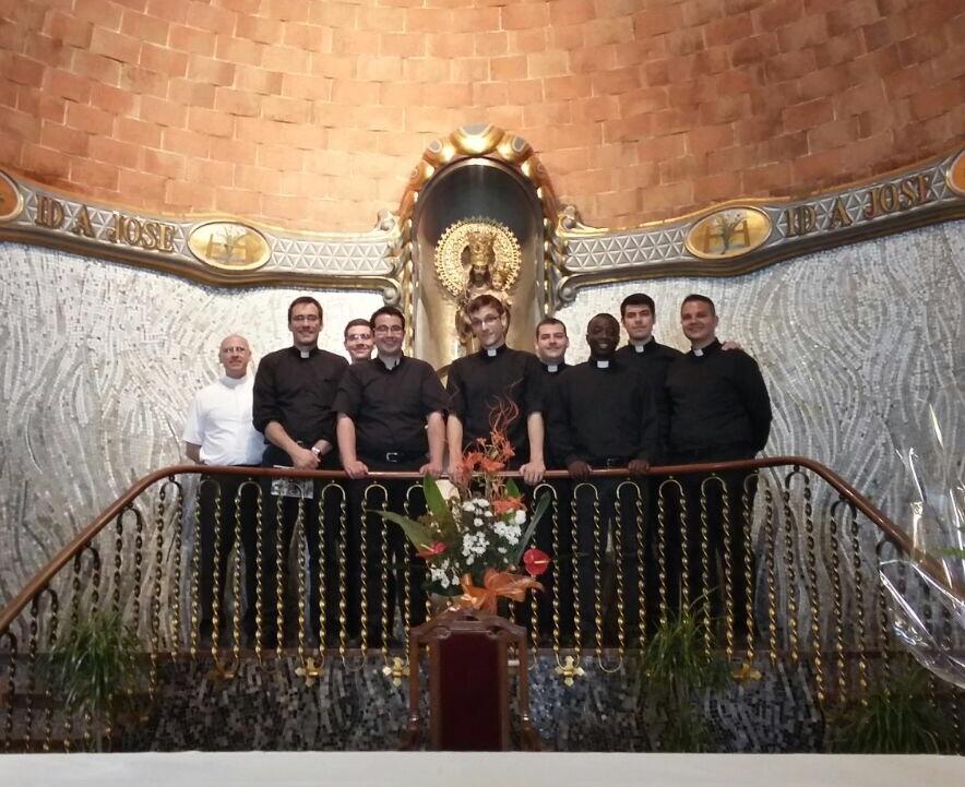 Diócesis de Toledo. Visita seminaristas