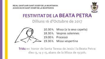 Festivitat Beata Petra 2017