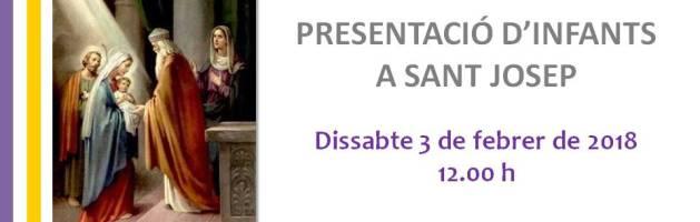 Presentació Nens i Nenes a Sant Josep