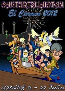 cartel-fiestas-santurtzi-2012-txalupa-8