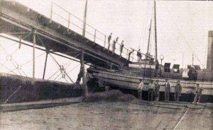 1908 Foto naufragio Triunfo