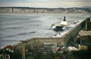 1984 Foto naufragio Jarvis Bay 2