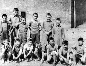 Niños internos del Patronato