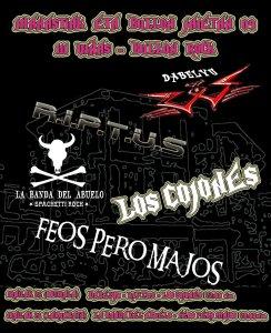 cartel conciertos 2009