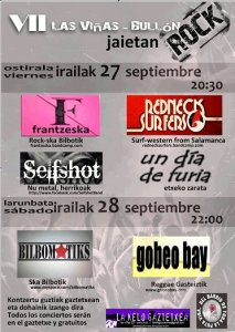 cartel conciertos 2013