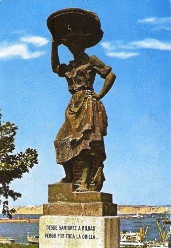 Monumento a la sardinera en Santurtzi-1 (1967)-2