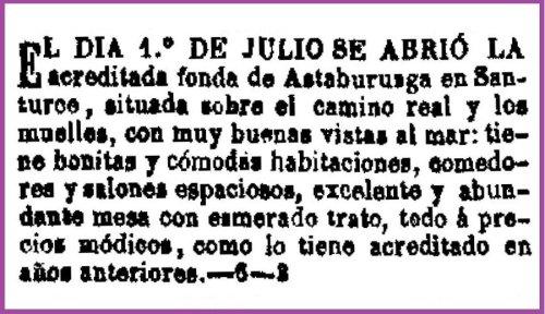 2 Fonda 1870 de Astaburuaga, julio de 1870