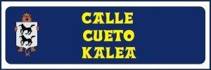 Calle Cueto (no hay placa)