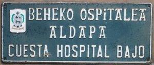 Cuesta Hospital Bajo