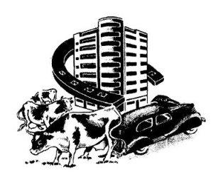 Casa de la rifa según anuncio 1946