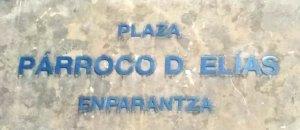 Plaza Párroco D. Elías
