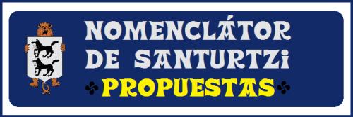 0 Nomenclátor de Santurtzi-Propuestas
