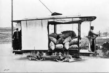 tranvía mercancías