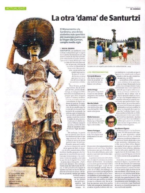 1 La otra dama de Santurtzi - Artículo en El Correo)