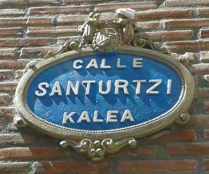 Placa Calle Santurtzi en Bilbao-1