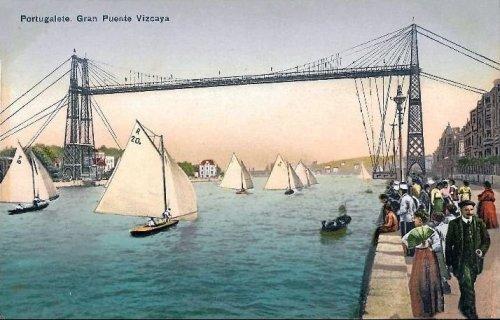 balandros bajo el puente colgante
