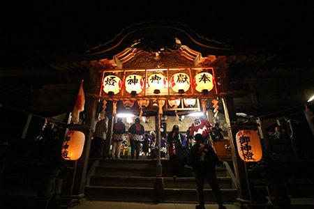 葛原正八幡神社 秋季大祭2015