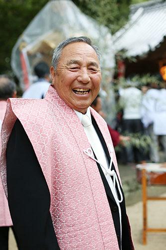 大木自治会長さん