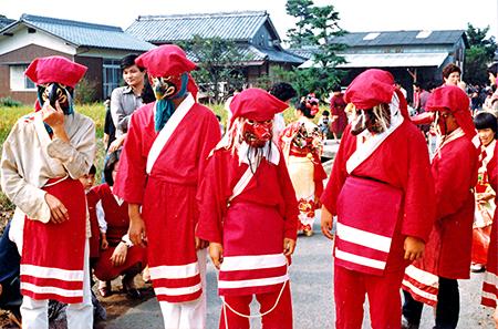 多度津町葛原の秋祭り(1970年頃)