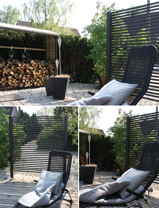 sichtschutz garten ohne betonieren. Black Bedroom Furniture Sets. Home Design Ideas