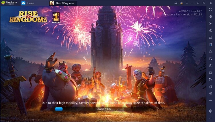 Rise of Kingdoms on PC with BlueStacks Macros
