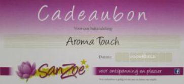 Aroma Touch Cadeaubon