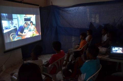 Assistência Social promoveu Caravana de Cinema em São Gonçalo