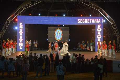 Com apoio da Prefeitura, Boi Calemba Pintadinho representa o RN em Festival de Folclore de SP