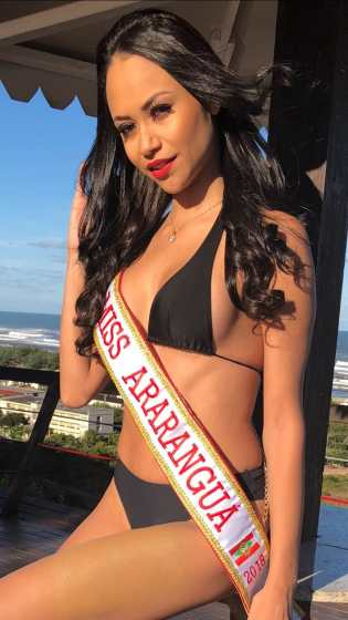 MISS ARARANGUÁ - PAMELA OLIVEIRA 24 ANOS – 1.78 MT