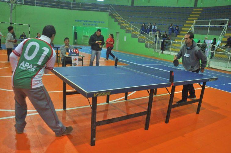 Circuito Tenis : São joaquim sedia o 4° circuito de tênis de mesa das apaes