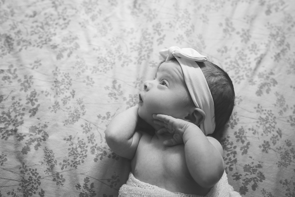 newborn photography portrait baby photography session black and white