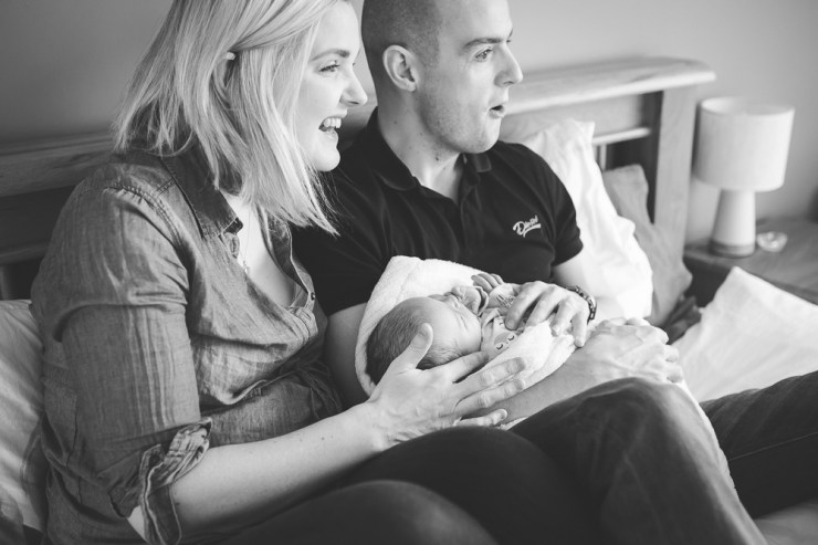new parents, mum and dad, baby, family portrait, new baby, siblings, mum, dad, at home photography