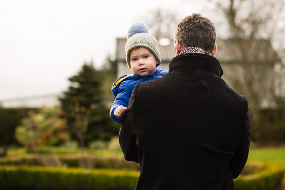 father, son, outdoor, toddler, first birthday, photography, portrait, baby, boy, family