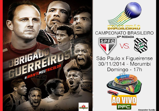 São Paulo x Figueirense