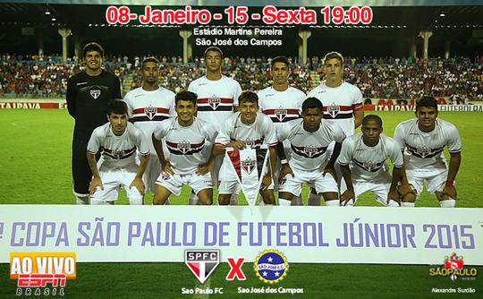 São José x São Paulo