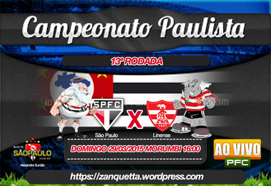 São Paulo x Linense