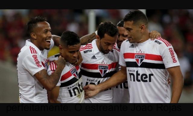 8181f57cadc São Paulo vence Flamengo no Maracanã mesmo jogando contra 12. FLA 0x1 SPFC
