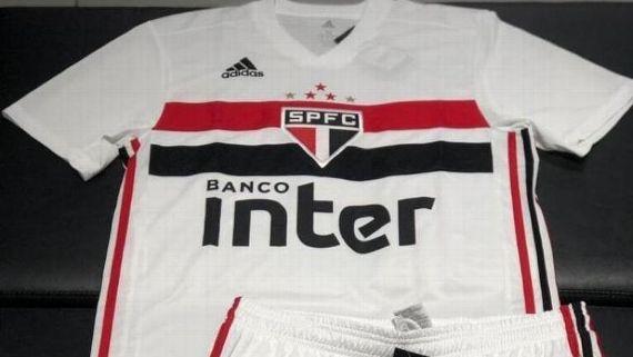 dc063b1062 São Paulo  Nova camisa 1 vaza na web