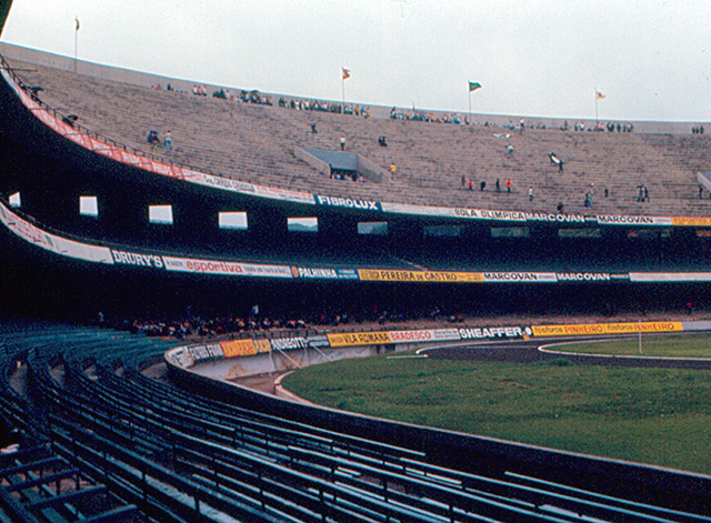 E finalizando, o Estádio do Morumbi